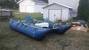 16 ft inflatable fishing cat raft