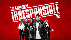 4 Tickets to Kevin Hart Irresponsible Tour June 9th Edmonton