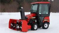 Snow Maintenance Operators with Stand by Pay