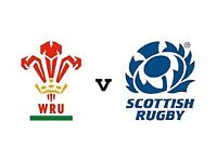 3 x Wales vs Scotland 6 Nations 2018 tickets. Sat together. Price is per ticket
