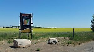 COUNTRY RESIDENTIAL XLarge LOTS FOR SALE - COALDALE