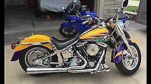 Custom Harley Davidson Fat Boy