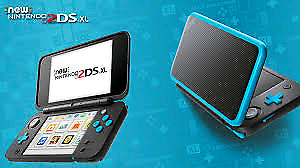 New 2DS XL with 4 games.
