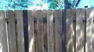 Wanted Used Wooden Fencing,
