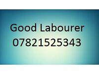 Skilled labourer looking for job