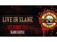 Guns n' Roses at Slane Castle GOLD CIRCLE