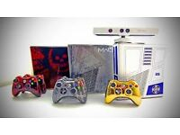 *WANTED* LIMITED EDITION XBOX 360 CONSOLES