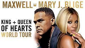 MAXWELL AND MARY J. BLIGE - KING & QUEEN OF HEARTS TOUR