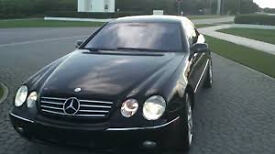 mercedes cl500 amg breaking for parts cl500 v8 amg 2door coupe