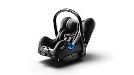 Audi Baby Car Seat Birth - 15 months in Grey/Black