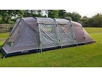 Outwell Glendale 5 Tent with matching Outwell Footprint and Carpet (Used Once)