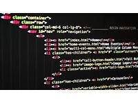 Web development for web design