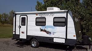 Your trailer in my driveway from August 3rd-10th!