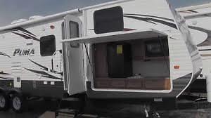 2014 Used Palomino Puma Front Bunkhouse Travel Trailer Rv