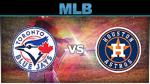 Blue Jays vs. Astros – Sept. 26…200's, Row 1, Aisle