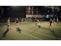 5 a side football teams wanted - Finsbury Park