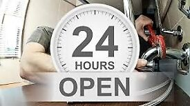 EMERGENCY PLUMBER 24HRS FAST CALL OUT BETWEEN 30 mins & 2 hrs in most cases