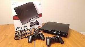 PS3 With 13 games and 2 controller