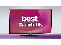 "32""tv selling for £80 with guaranteed"