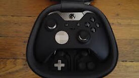 Xbox one Elite Controller (case,usb,accessories, complete)