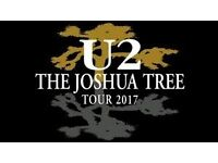 U2 Tickets for Sale - 4 available - Middle Tier - £145 each - Sunday 9th July at Twickenham Stadium