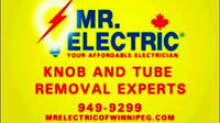 Best price guarentee every quote from Mr. Electric