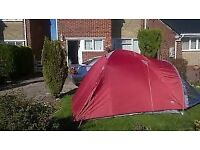 camping equipment family holidays - 2 tents, 4 sleeping bags, cooker & extras