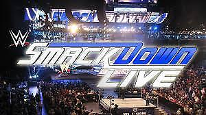 WWE Tuesday Night Smackdown Live Tuesday August 28th @ 7:30pm