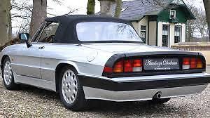 1986 Alfa Romeo Spider Convertible conversion to electric