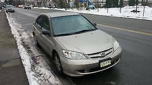 Low Mileage Well Maintained 2005 Honda Civic SE. Priced for SALE