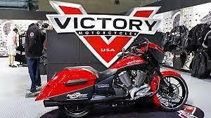 VICTORY DEALER SHOWROOM SIGN DISPLAY UNIT