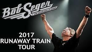 BOB SEGER - BLUE CROSS ARENA, ROCHESTER -2 TICKETS 212 ROW A!!