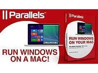 Parallels run Windows on mac