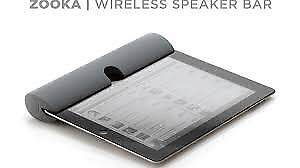 NEW - Zooka Wireless Speaker for iPad and Bluetooth Devices (Bla