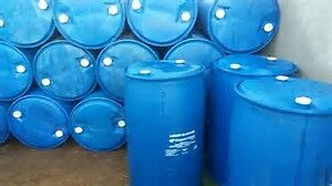PLASTIC AND METAL BARRELS