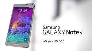 Great Condition Note 4 with box and all accesories