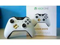 XBOX ONE LUNAR WHITE CONTROLLER GREAT CONDITION