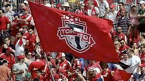 Toronto FC vs New York Red Bulls @ BMO July 17 Sec 105 R13
