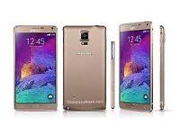 Sim Free Samsung Galaxy Note 4 Gold 32GB