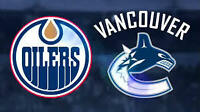 2 tickets to Canucks vs. Oilers - Sunday, October 18th
