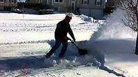 Snow removal! Same day service