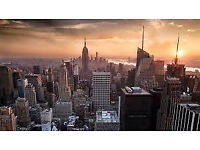 London-Newyork 2 airline tickets