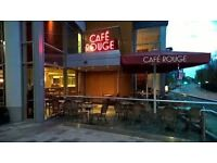 Commis Chef - Cafe Rouge - Newbury LOCATION: CAFE ROUGE - NEWBURY SALARY & BENEFITS COMPETITIVE