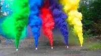 Coloured Smoke for Special Effects