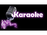 Karaoke presenters/entertainers