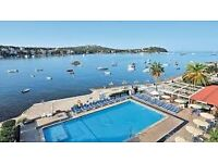 SANTA PONSA APARTMENT AVAILABLE TOMORROW FOR 1 WEEK FRONT LINE SEA PROPERTY