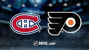 45$ Flyers 4 billets-tickets Section 313 24 oct