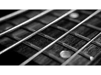 Bassist / Guitarist available for Original / Cover / Function band on short notice
