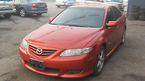 2004 Mazda 6 4doors auto , Safety e test and warranty London Ontario image 1
