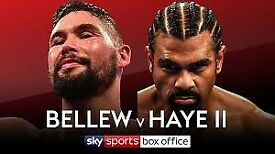 2 x Bellew v Haye Tickets, Cheaper than FV - Tickets in hand